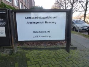 Arbeitsgericht in Hamburg
